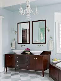 bathroom glamorous crystal bathroom chandeliers in dark room