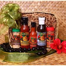 bbq gift basket hawaiian bbq gift basket
