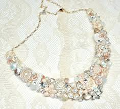 pearl bib statement necklace images 188 best bridal statement necklace images bib jpg
