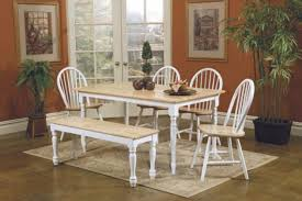 White Washed Kitchen Table by Sunny White Kitchen Table Set