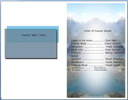 10 best images of free funeral program template microsoft word