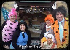 Trunks Halloween Costume Trunk Treat Flintstones Fall Ideas