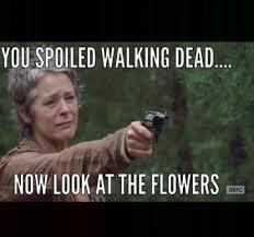 Walking Dead Carol Meme - walking dead meme 009 spoil look at flowers carol comics and memes