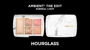 hourglass surreal light palette exclusive hourglass edit surreal light palette youtube