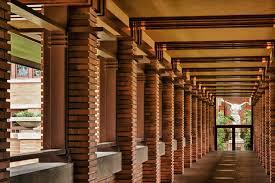 architectural photography darwin martin house pergola frank lloyd