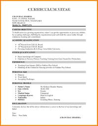Student Teacher Resume Sample Sample Teaching Resumes 10 Resume Format For Teaching Job In