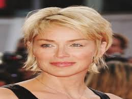 short hairstyles for fine hair over 50 round face archives women