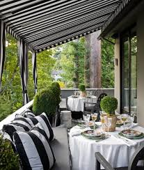 Striped Awning Striped Awnings Pve Design