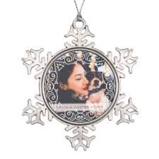 photo frame ornaments keepsake ornaments zazzle