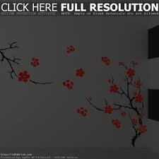 White Flower Wall Decor Floral Wall Decor Best Decoration Ideas For You