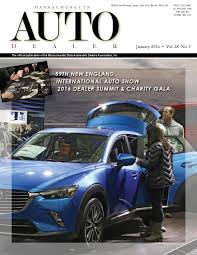 Floor Plan Financing For Car Dealers Massachusetts Auto Dealer Magazine January 2016 By Massachusetts