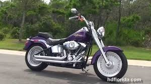 used 2008 harley davidson fat boy motorcycle for sale clearwater