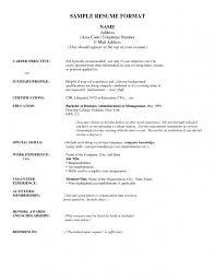 Awards On Resume Example by Address On Resume 15880