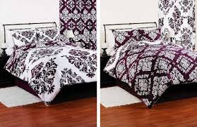 Black And Purple Comforter Sets Queen Baby Bedding Sets Purple Bedding Decor Pictures Photos Samples Kids