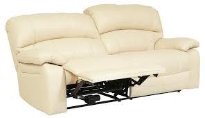 2 Seater Leather Recliner Sofa by Damacio Cream 2 Seat Power Reclining Sofa From Ashley U9820147