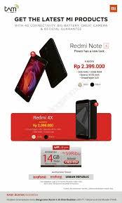 erafone redmi 4 erafone promo harga spesial untuk smartphone xiaomi redmi note 4 dan