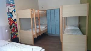 2 Bunk Beds 2 Bunk Beds And Lockers Picture Of Meininger Hotel Berlin Mitte