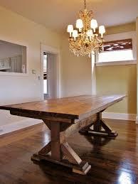 kitchen amazing narrow extendable dining table custom built