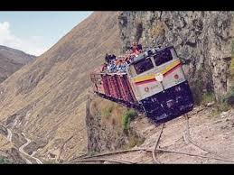 the most dangerous and railways in the world compilation
