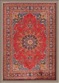 Traditional Persian Rug by Traditional Red Persian Rug Decorating With Red Persian Rug