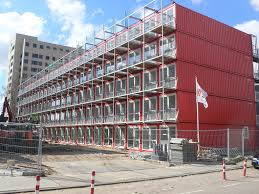 Shipping Container Apartments Shipping Container Apartments Amsterdam There Must Flickr