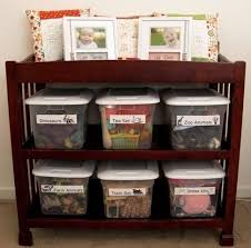 Changing Table Organizer Ideas Changing Table Changing Table Before And After