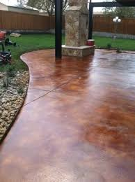 the actual process of concrete paint application to your concrete