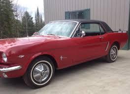 1965 mustang 289 horsepower 1965 mustang coupe 289 manual 225 hp 45k original for sale