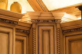 Trim For Kitchen Cabinets Tips For Creating Attractive Wood Molding Decor Inhabit Zone