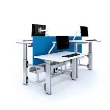 deskrite evolve sit stand desk 1800mm from posturite