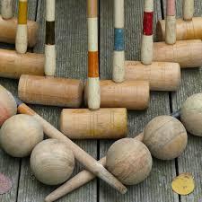 lettres d馗oratives cuisine lettres decoratives cuisine 10 ancien jeu de croquet en bois