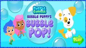bubble guppies bubble pop bubble guppies games video dailymotion