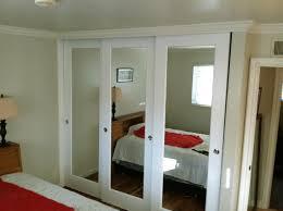Mirror Bifold Closet Door Mirrored Bifold Closet Doors Bedroom Mirror Ideas How To