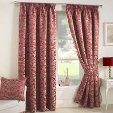Jacquard Curtain Curtina Crompton Damask Jacquard Curtain Tie Backs Ebay