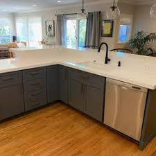 best company to paint kitchen cabinets best kitchen cabinet refinishing near me april 2021 find