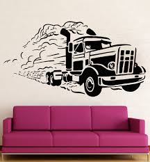 compare prices on cars kids room online shopping buy low price new popular kids room wall sticker vinyl decal car truck truckers great garage decor free shipping