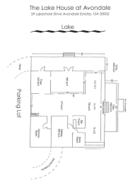 lake house floor plan