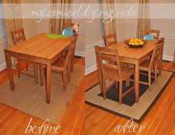Do Rug Rugs Under Kitchen Table Rugs Decoration