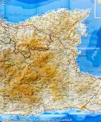Crete Map Map Of Eastern Crete Greece Terrain Cartography U2013 Mapscompany