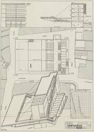 Bauhaus Floor Plan Axonometric Rndrd