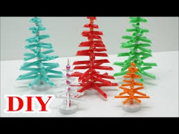 best out of waste craft ideas diy drinking straws christmas tree