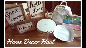 tj maxx home decor rustic home decor haul tj maxx home goods hobby lobby target