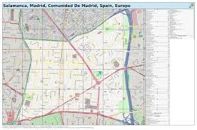 Madrid Spain Map Maposmatic Dev Salamanca Madrid Comunidad De Madrid Spain