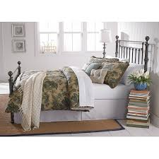 ashland full size black nickel plated post metal bed free