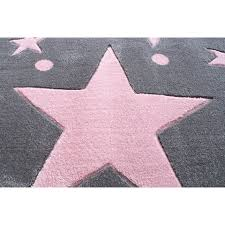 kids rugs kids rug happy rugs stars silver gray pink 120x180cm 119 00