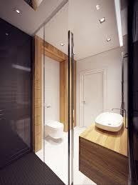 interieur maison bois contemporaine design d u0027intérieur de maison moderne salle de bain rustique