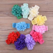crochet hair bands crochet baby headband ebay