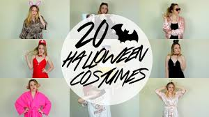 20 1 diy last minute halloween costumes cheap u0026 easy youtube