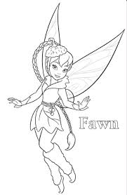 fawn coloring pages funycoloring