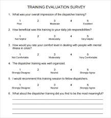 Free Survey Templates For Word by Survey 9 Free Documents In Pdf Word